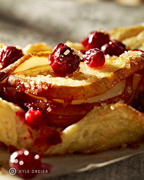 Rustic Fruit Tart - Detail