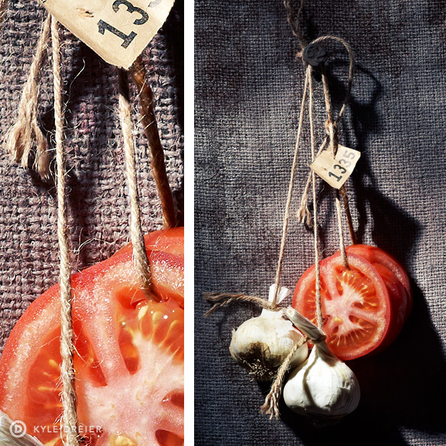Garlic Tomato Still LIfe