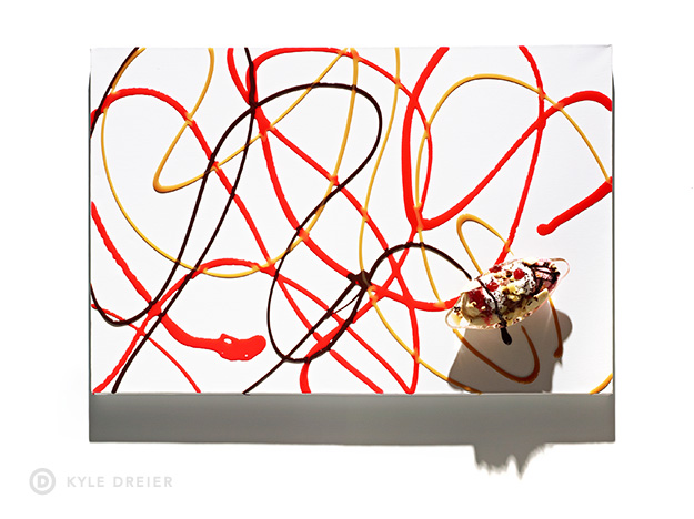Banana Split Art - Food Photography Styling - 2