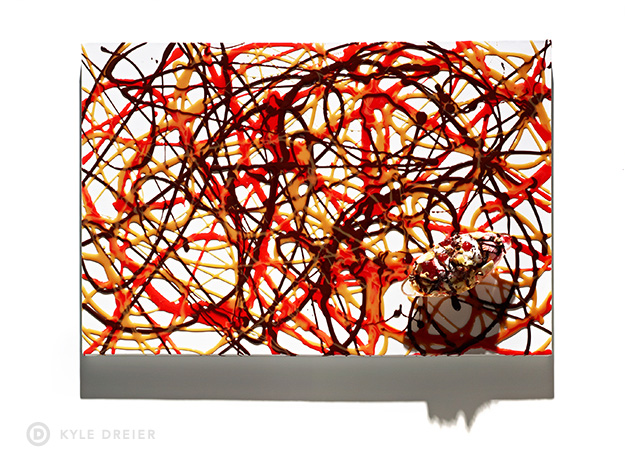 Banana Split Art - Food Photography Styling - 3