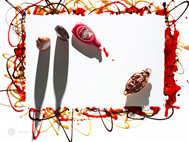 Banana Split Art - Food Photography Styling - 5