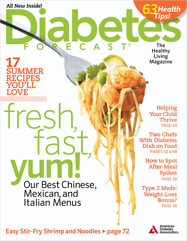 Shrimp and Noodles - Magazine Cover - Food Photography