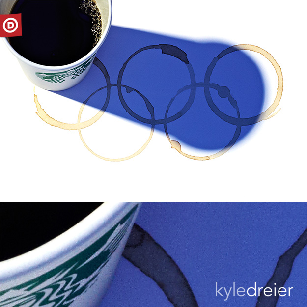 Olympic Coffee Rings