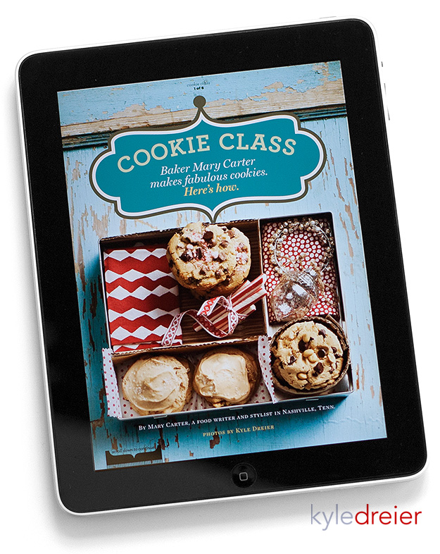 Mary Carter Chocolate Chip Peppermint Cookies