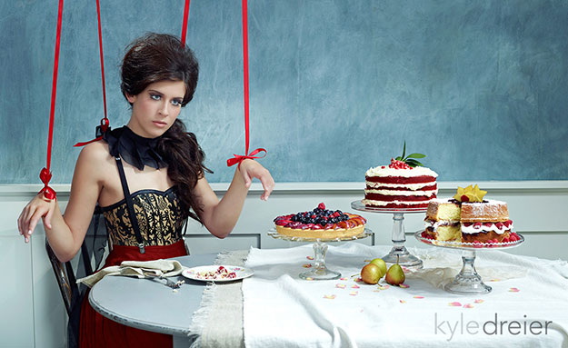 Marionette Model Food Photography