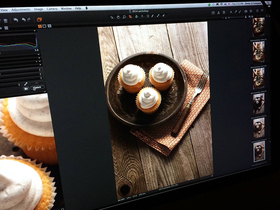 food-photography-workshop-nashville-cupcake