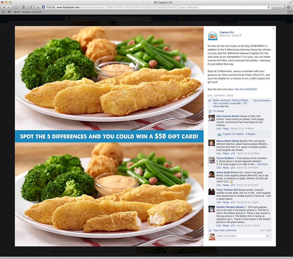 fish sticks food photography