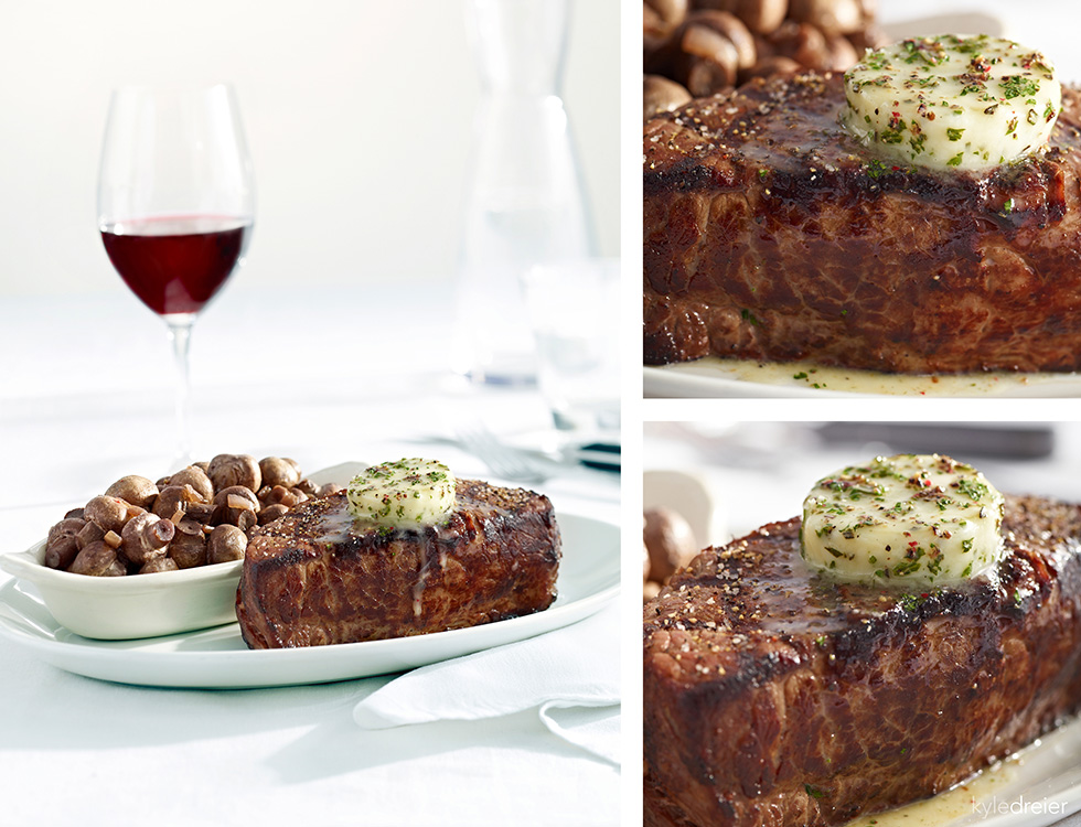 Stoney River Steak Food Photography