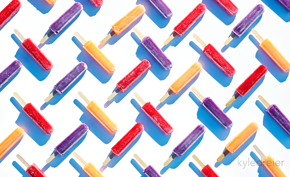 organized popsicles
