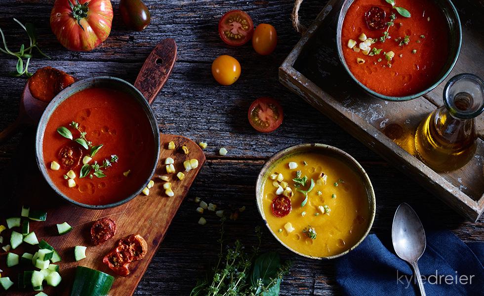 cold tomato soups