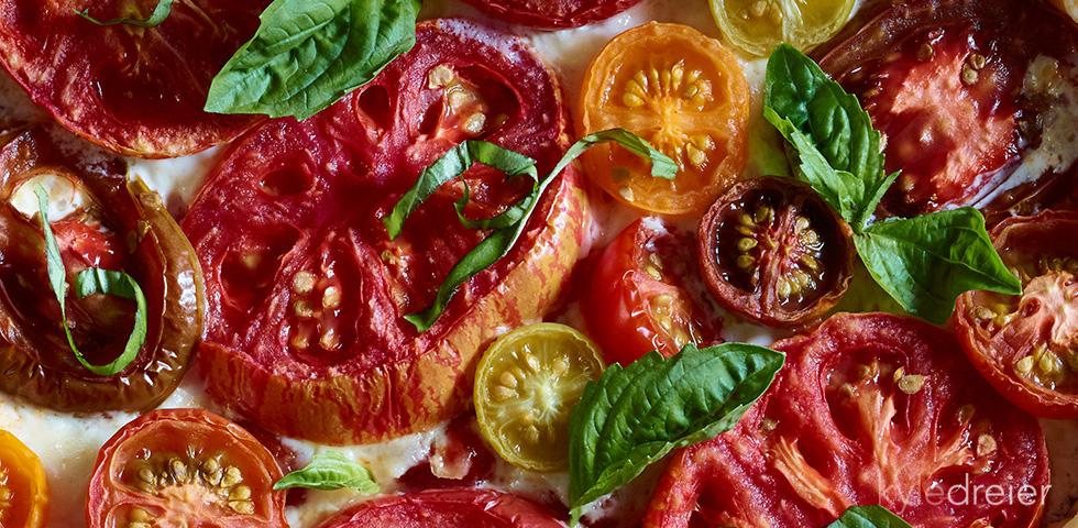 tomato pie detail