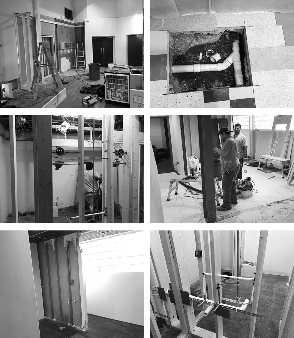 Studio Interior Behind The Scenes Construction