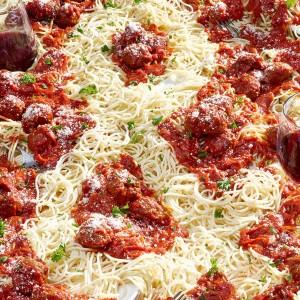 spaghetti & meatball ampersand