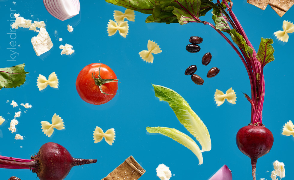 Food photography for Salata by Kyle Dreier